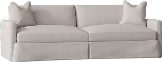 Wayfair Custom Upholstery™ Madison XL Slipcovered Sofa & Reviews | Wayfair