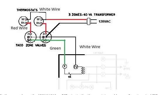Adding A Common Wire To A Slant Fin V 120 Ep L8148e Doityourself Com Community Forums Hot Water System Ads Wire