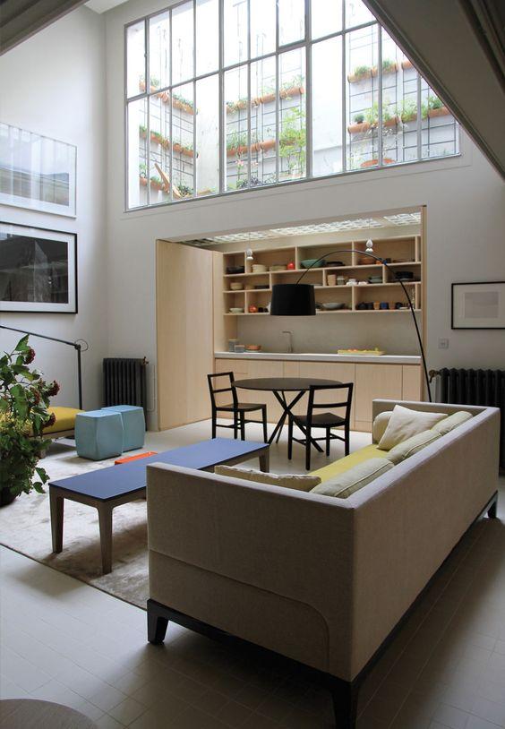 guillaume terver et christophe delcourt associ s loft. Black Bedroom Furniture Sets. Home Design Ideas