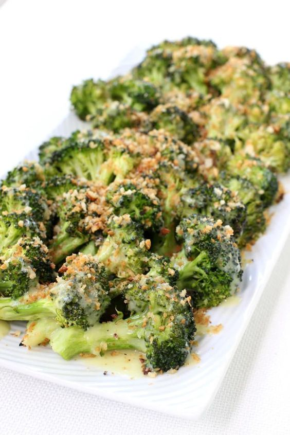 Roasted Broccoli with Buttery Bread Crumbs is a great way to make broccoli taste the best it can. You'll be roasting broccoli from now on!