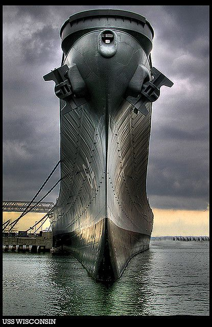 "coffeenuts: "" USS Wisconsin by stevehdc on Flickr. "":"