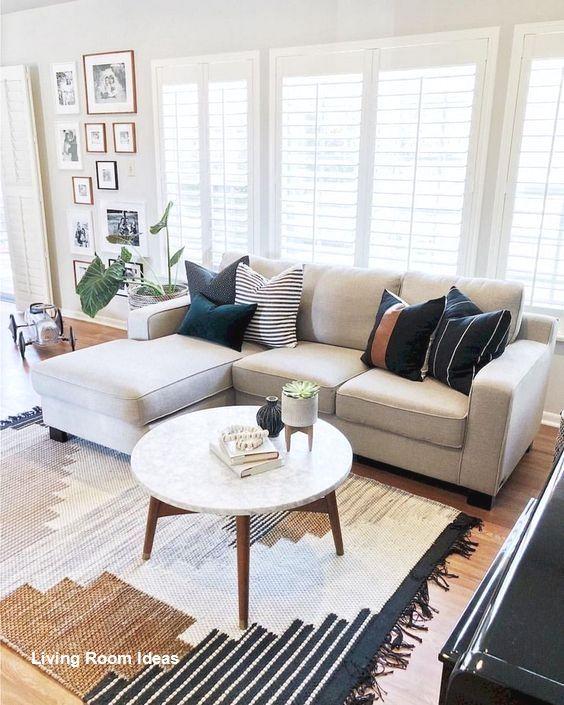 Cozy Living Room Decor For Small Modern Boho Or Rustic Living Rooms In 2020 Classy Living Room Farm House Living Room Rug Decor Living Room