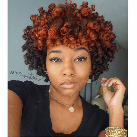 @dayelasoul #LuvYourMane #blackisbeautiful #naturalhair #naturalhaircommunity #blackgirlsrock #melanin