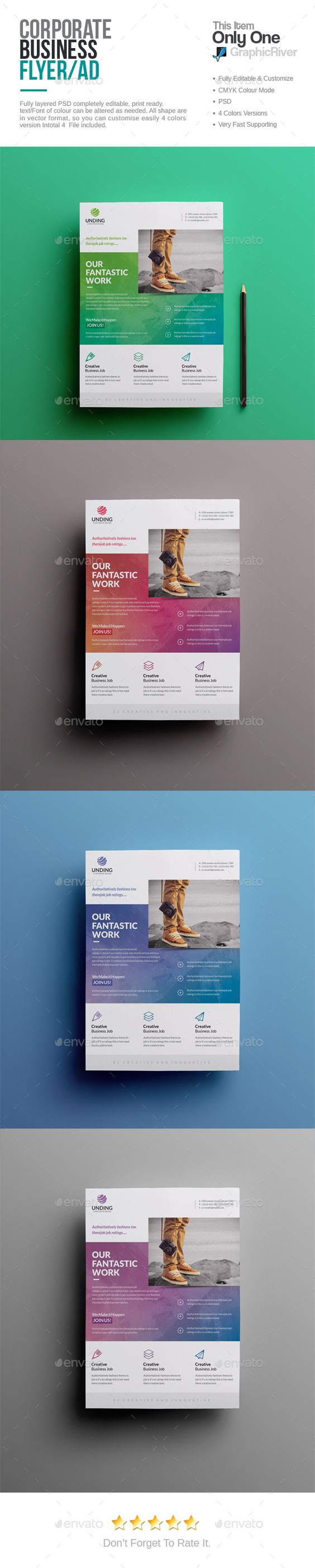 corporate flyer studios flyer template and flyers corporate flyer psd template studio professional ➝