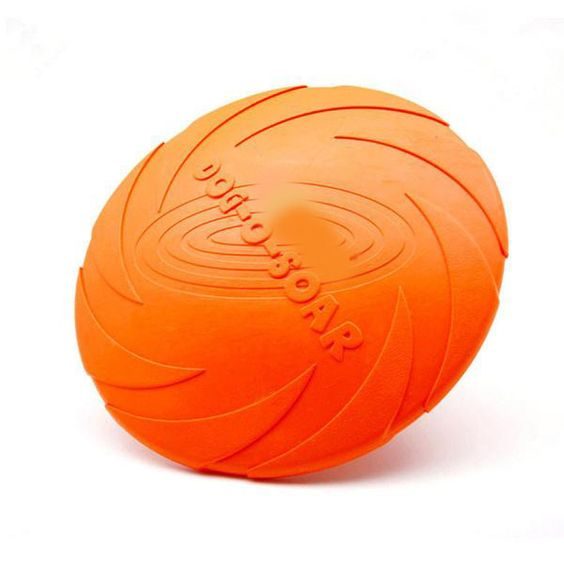MyLabAdorable Eco-friendly Pet Product Natural Rubber Material Pet Dog Toy Frisbee Dog Training