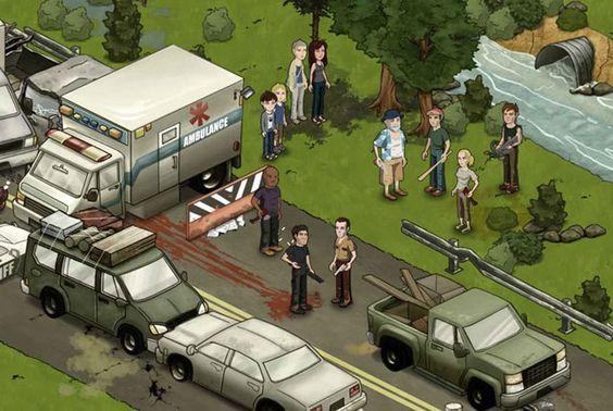 The Walking Dead terá jogo para o Facebook