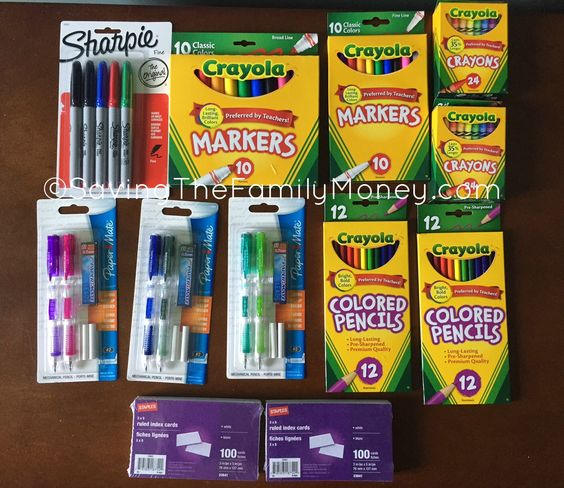 Back To School Supply Deals This Week at Staples and Office Max