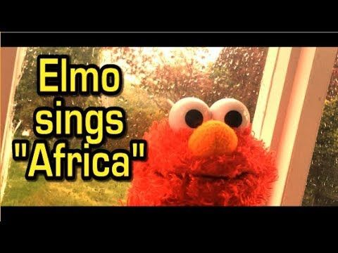 Elmo Sings Toto Africa This Is Surprisingly Great Elmo Memes Elmo Sings Elmo Song