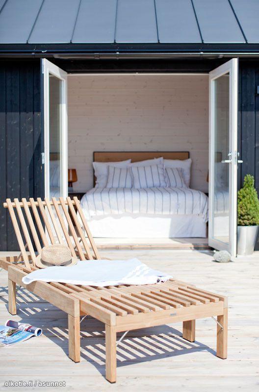 Beach House Indoor Outdoor Bedroom