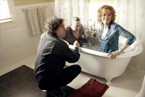 Tim Burton directs Jessica Lange and Albert Finney in ''Big Fish', 2003