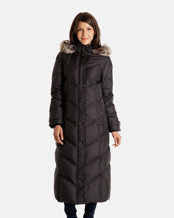 Down Coat Full Length - Coat Nj
