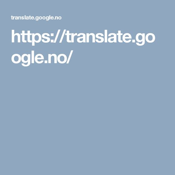 Https Translate Google No Sprak Ord Engelsk
