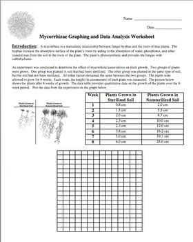 Graphing and Data Analysis Worksheet FREE | Life science ...