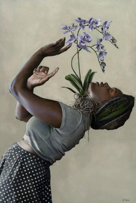 Exhibition of Amanda Greive - museum of art