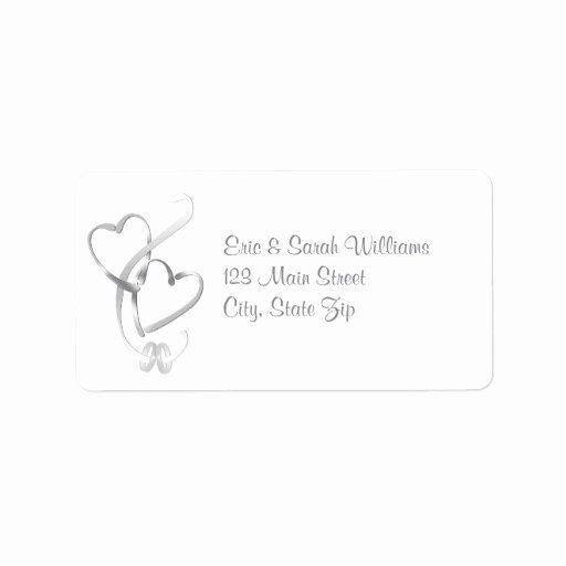 Luxury Wedding Return Address Labels Template In 2020 With Images Wedding Return Address Labels