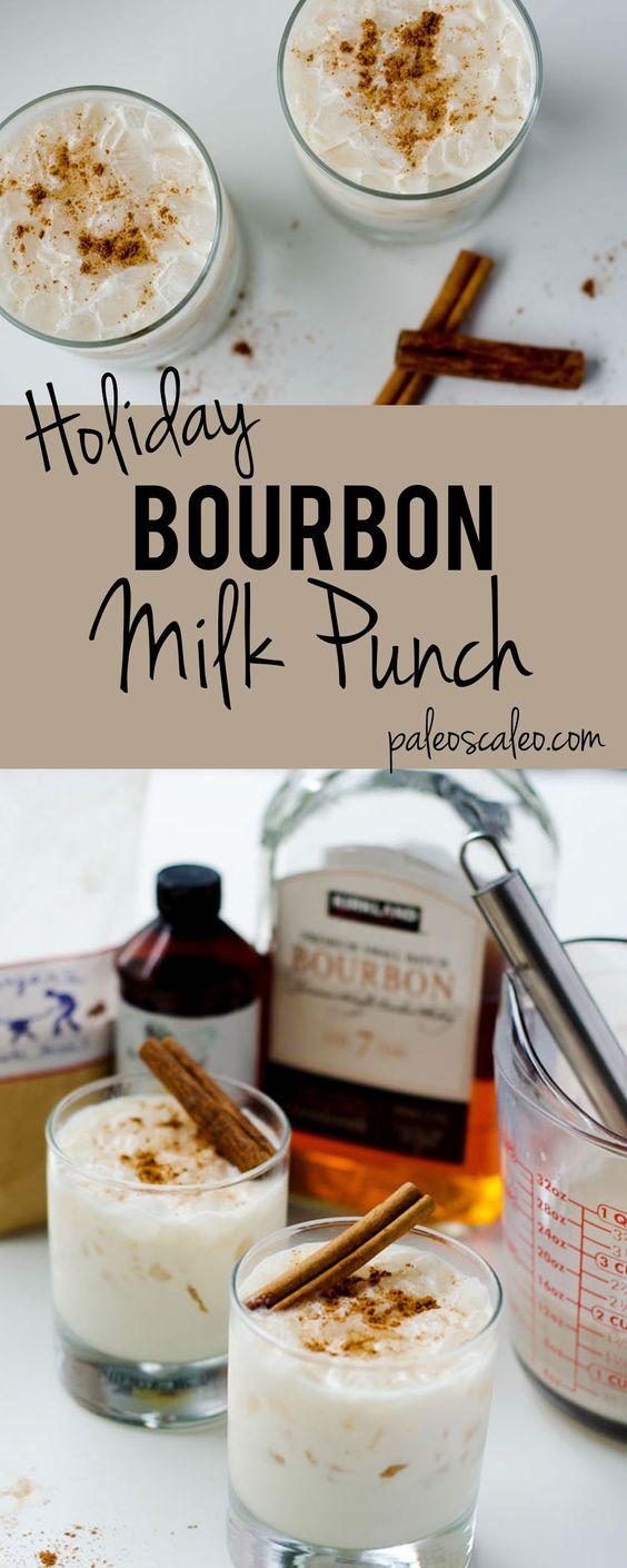 Bourbon Milk Punch | PaleoScaleo.com