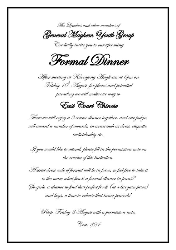 Formal Invitation Wording Wedding Ideas Pinterest Formal - formal invitation