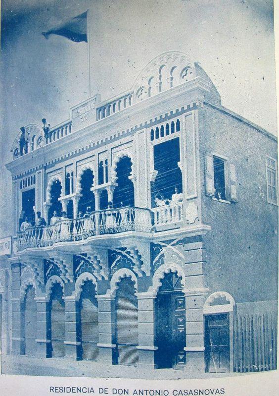 Edificio Familiar En 1920 San Francisco De Macoris República Dominicana Dominican Republic Landmarks Building