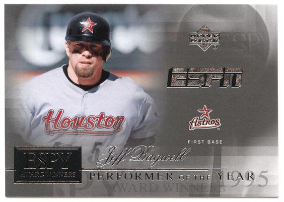 Jeff Bagwell # AW 4 - 2005 Upper Deck ESPN Baseball ESPY Award Winners