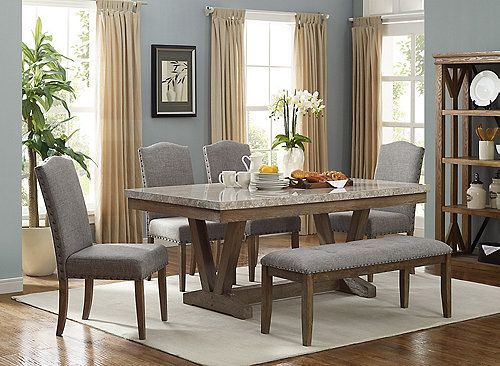 Vesper Dining Bench Dining Table Marble Marble Top Dining Table