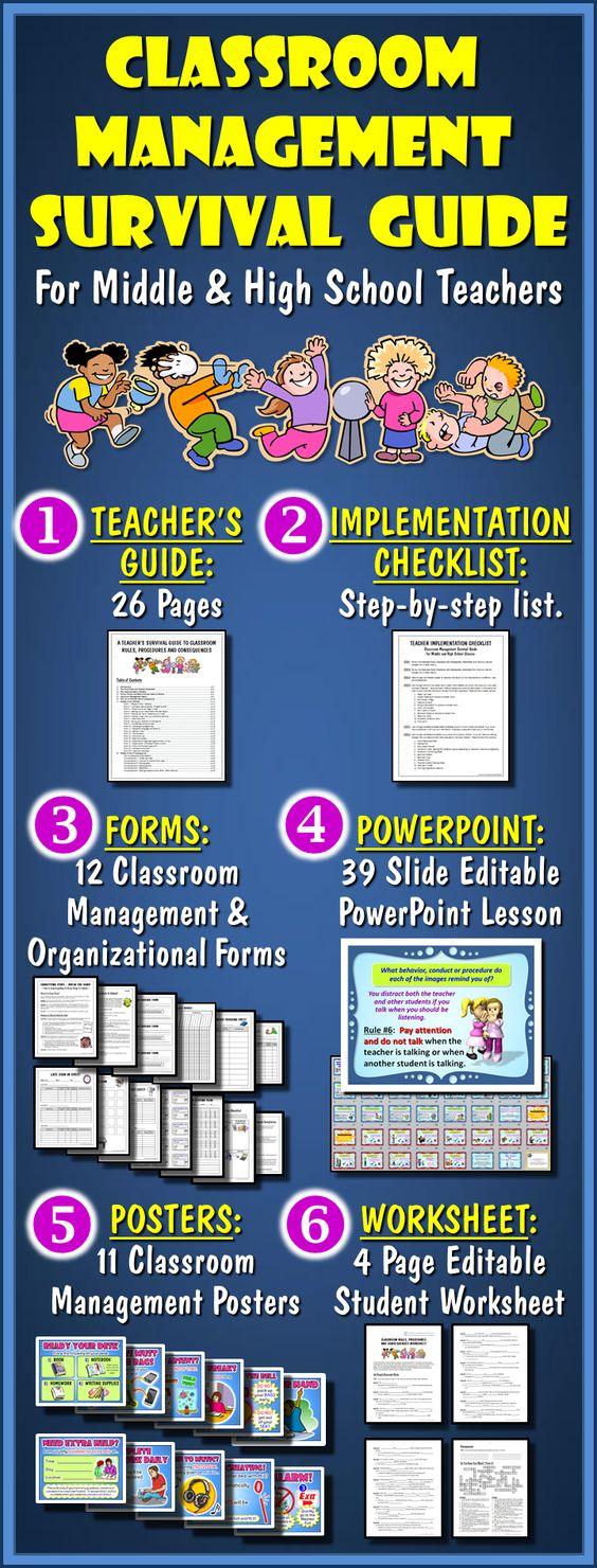 Classroom Management Ideas Middle School ~ Classroom management school and high