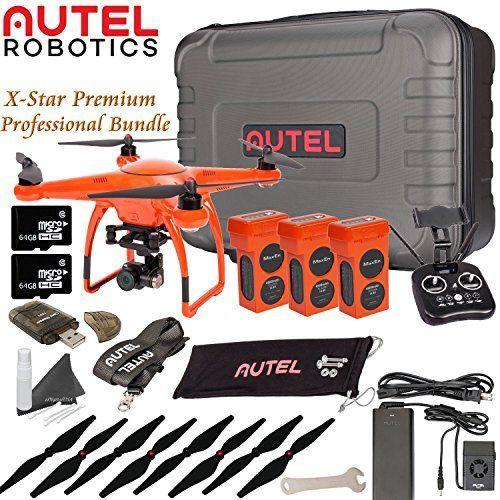 Autel Robotics X-Star Premium Drone Professional Bundle (Orange) - http://www.midronepro.com/producto/autel-robotics-x-star-premium-drone-professional-bundle-orange/