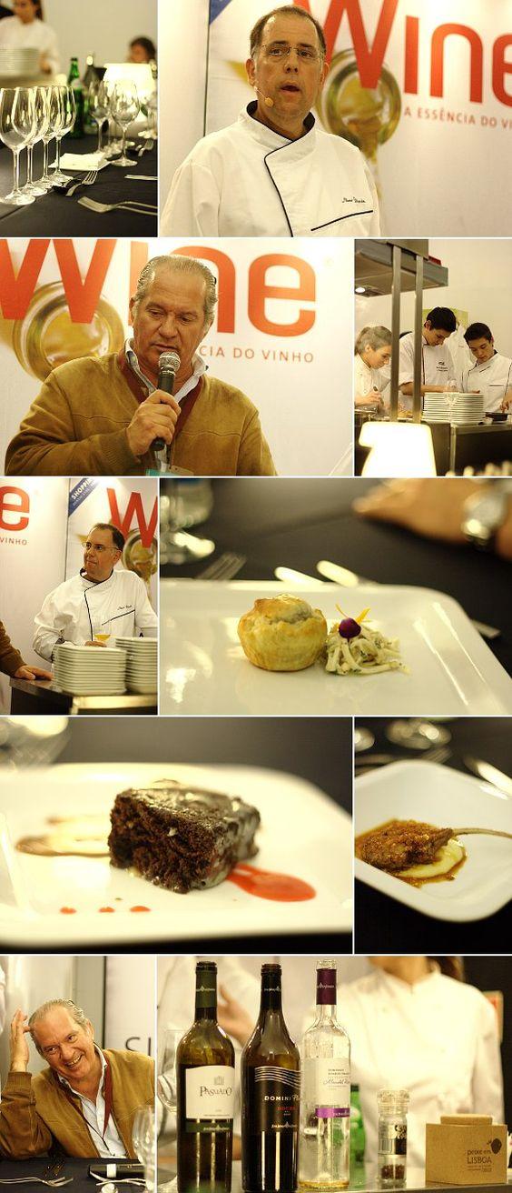 Harmonização de vinhos JMF com a cozinha do chef Nuno Diniz [2012]