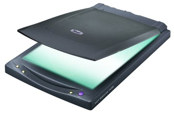 a SCANNER is an input device that scans a hard copy of photos or documents and then puts a digital copy onto the computer.