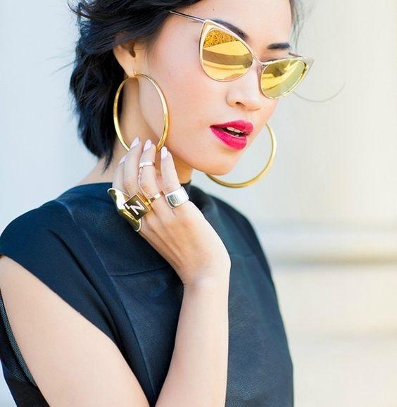 Модные солнцезащитные очки 2017-2018 фото стильных моделей очков