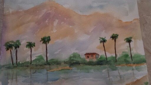 Lake Cahuilla on a Quite Morning