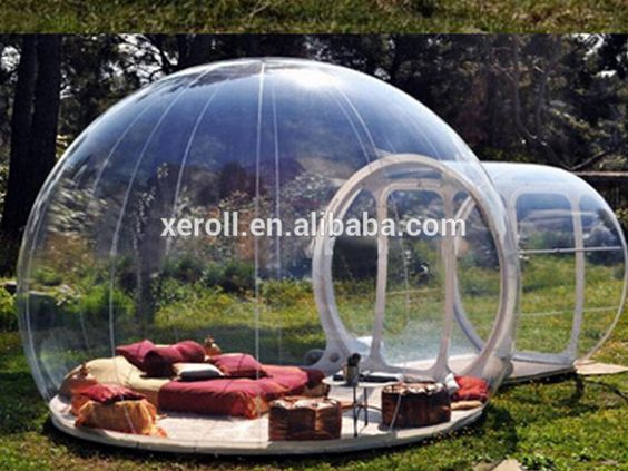 Clear inflatable tent inflatable bubble camping tent for sale