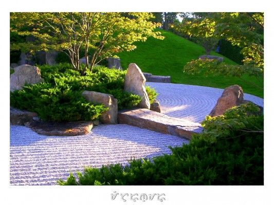Decorar un jardin japones dise o de interiores - Decorar un jardin ...