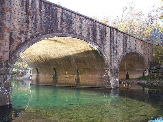 Bridge at Bennet Spring State Park
