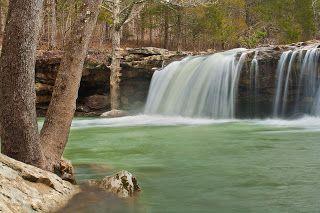 Fallingwater Falls, Arkansas (Must go this next SUMMER!)