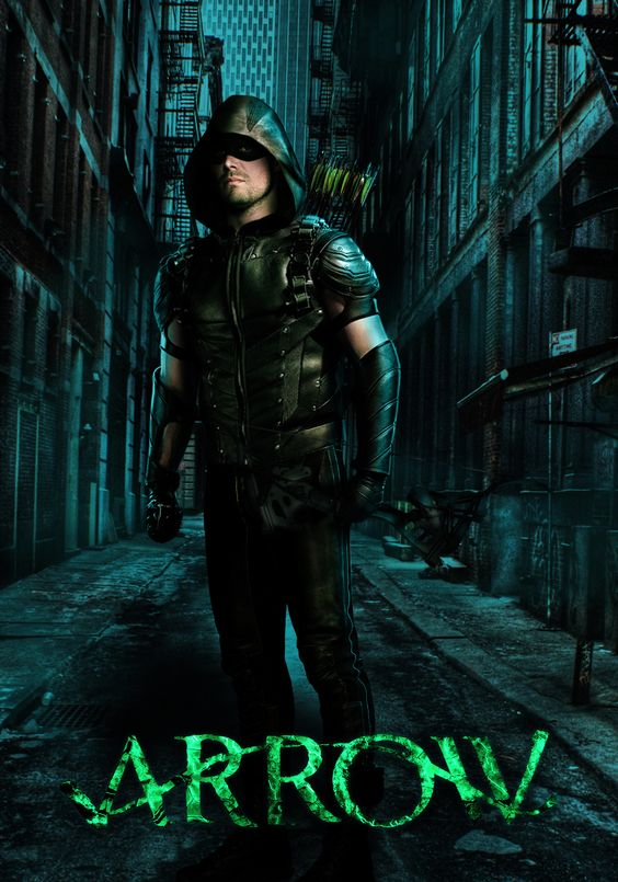 #Arrow Season 5 poster Oliver Queen The Green Arrow
