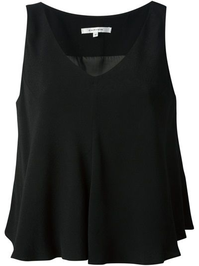 CARVEN Sleeveless Blouse