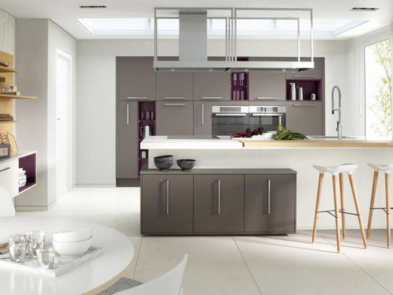 Kitchen Kitchen Backsplash Design Grey And White Kitchen Kitchen Pantry Cabinet With Pull Out Shelves 799x600 European Grey And White Kitchen Cabinets Design