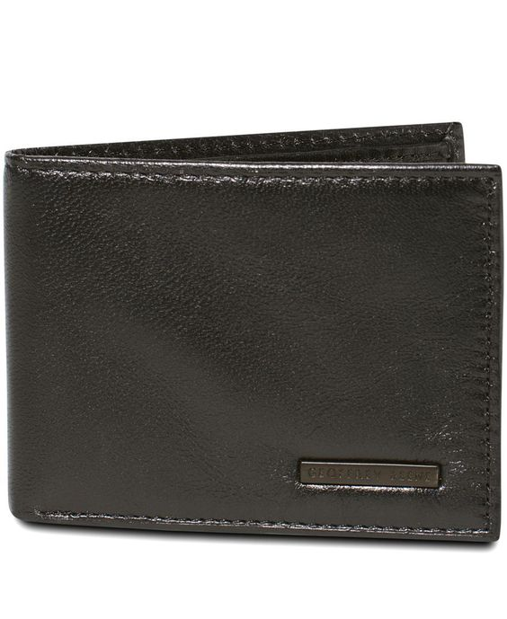 Geoffrey Beene Mead Credit Card Manager Bifold Wallet
