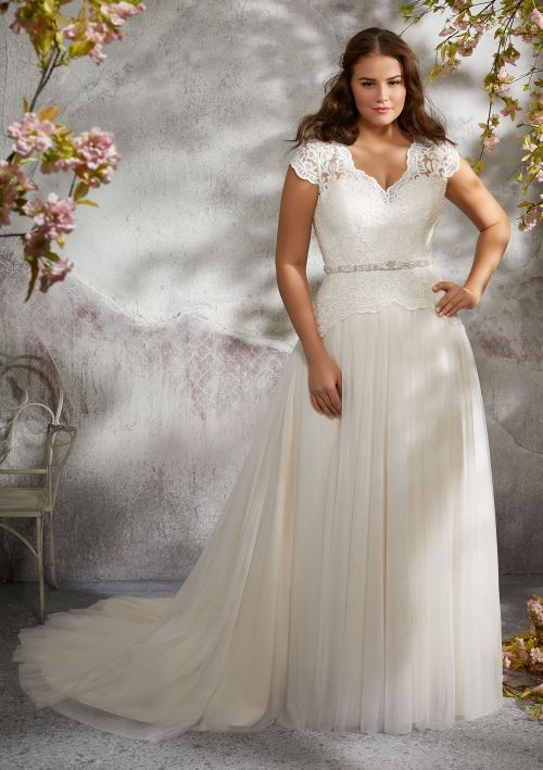 Plus Size Wedding Dress from Fantasy Bridal. Plus size ...