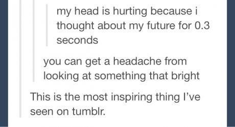 this is so unbelievably encouraging