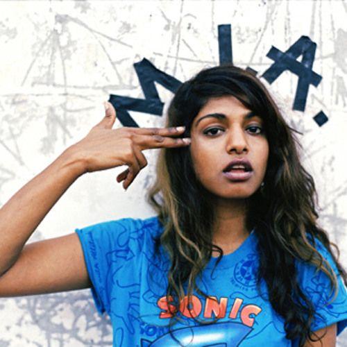 M.I.A. – Sunshowers (single cover art)