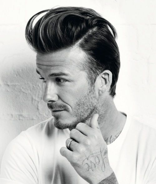 Photo Of David Beckham Quiff Hairstyle Hairspiration - Quiff hairstyle david beckham