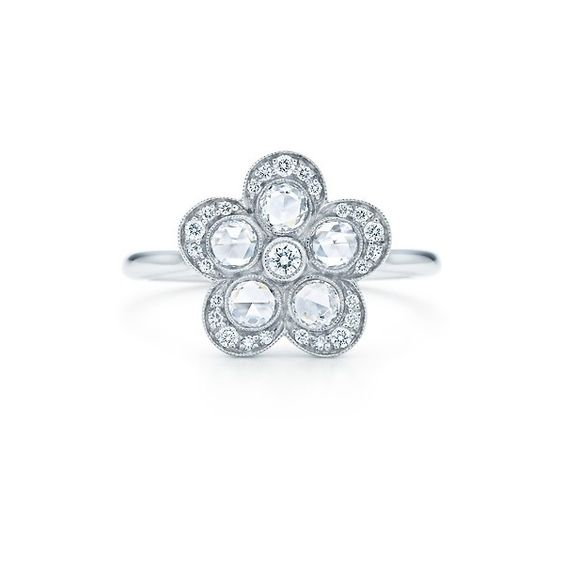 ✨Tiffany garden flower ring✨