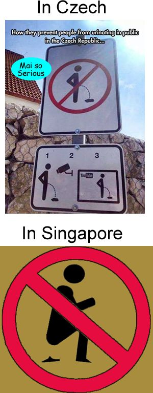 Follow: http://maisoserious.com #urinating #signs #shitting #funny #jokes Signs in different countries