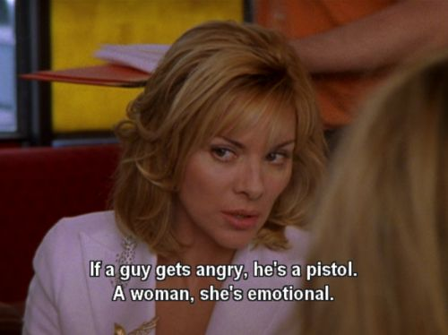 Samantha Jones on double standards