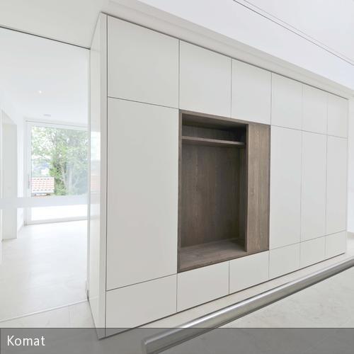 Entwurf un Umsetzung Garderobenmöbel und Einbauschrank in Passau.