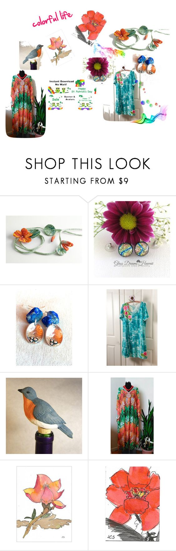 """""""Colorful Life"""" by nadya-mendik ❤ liked on Polyvore featuring Arco"""