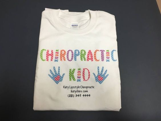 Thank you Katy Lifestyle Chiropractic for your business. Contact www.Tshirtsetckaty.com You can think of it, we help create it !