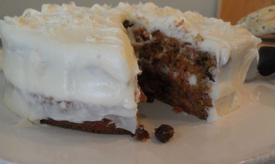 Am I the only person who has thought of making a carrot cake without the carrots??