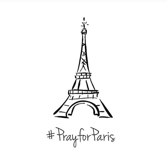 Pray for Paris #paris #love #sadday